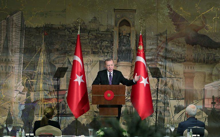 Ερντογάν: Αδικία ο αποκλεισμός της Άγκυρας από τα F-35