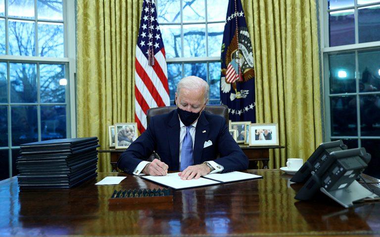 Οι ΗΠΑ επέστρεψαν στη Συμφωνία του Παρισιού δια χειρός Μπάιντεν