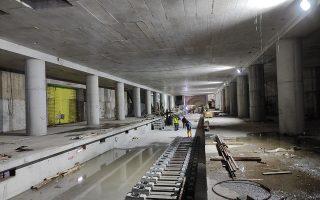 Η ολοκλήρωση του εσωτερικού του σταθμού υπολογίζεται ότι θα χρειαστεί περί το ένα έτος.