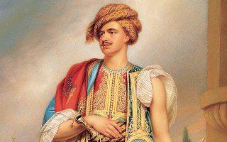 Ο Thomas Hope, 45 ετών το 1798, ντυμένος Τούρκος, στο πορτρέτο του William Beechey που εκτίθεται στη National Portrait Gallery στο Λονδίνο.