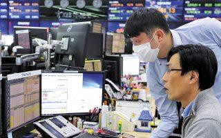 Η Ιαπωνία βρίσκεται στη δεύτερη θέση όσον αφορά τις μεγαλύτερες ανάγκες χρηματοδότησης, με ομόλογα που λήγουν αξίας 2,9 τρισ. δολαρίων. Τρίτη είναι η Κίνα με χρέος ύψους 577 δισ. δολαρίων, αυξημένο αισθητά σε σύγκριση με τα 345 δισ. δολάρια του περασμένου έτους.