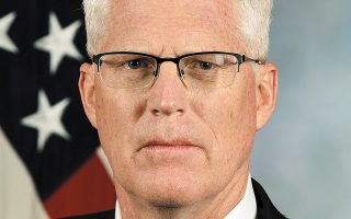O εκτελών χρέη υπουργού Αμυνας των ΗΠΑ Κρις Μίλερ. (Φωτ. A.P.)