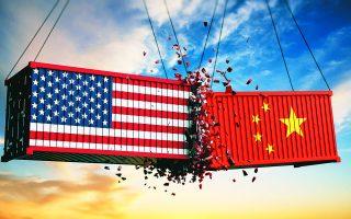 H σύγκρουση Ουάσιγκτον - Πεκίνου, στα πεδία της οικονομίας και της ασφάλειας αναμένεται σφοδρή.  Φωτ. SHUTTERSTOCK