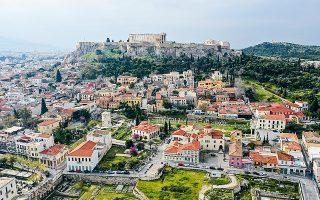 Η Ελλάδα, παρά την οικονομική καχεξία των τελευταίων δέκα ετών, εξακολουθεί να έχει μία ζηλευτή (για άλλα κράτη) θέση στο παγκόσμιο σύστημα. (Φωτ. A.P./Thanassis Stavrakis)