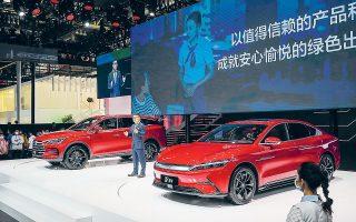 Η κινεζική αυτοκινητοβιομηχανία BYD έδωσε στην κυκλοφορία πριν από έξι μήνες το πολυτελές ηλεκτρικό σεντάν Han, το οποίο εκτινάχθηκε στην όγδοη θέση των πωλήσεων στην Κίνα μεταξύ των μοντέλων που κινούνται με νέες πηγές ενέργειας.