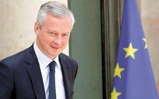 Ο Γάλλος υπουργός Οικονομικών Μπρινό Λε Μερ τόνισε, χθες, πως «θα ήταν δύσκολο για όλους να καταλήξει η Carrefour σε ξένους ιδιοκτήτες».