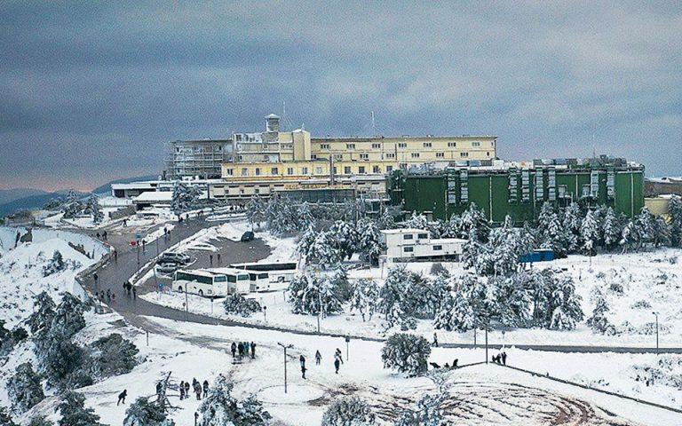 Εμπλοκή στη μεταφορά του καζίνο της Πάρνηθας στο Μαρούσι