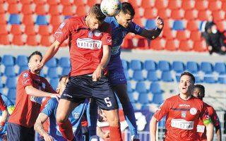 Τα Τρίκαλα επικράτησαν του Απόλλωνα Λάρισας με 1-0 (φωτ. INTIME NEWS).