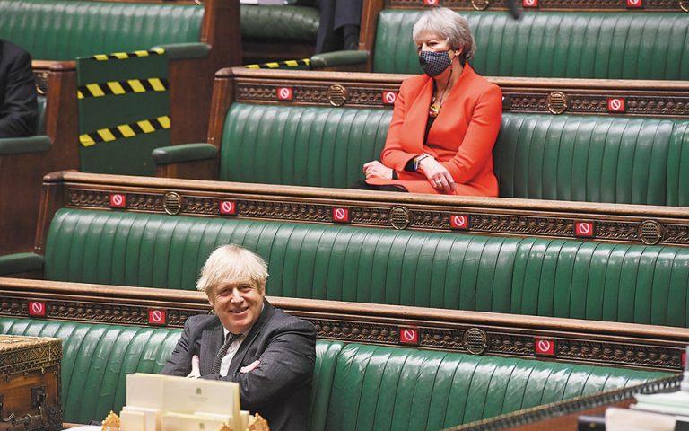 Τερέζα Μέι: «Ο Τζόνσον υπονόμευσε την ανωτερότητα της Βρετανίας»