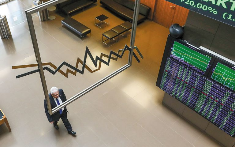 Οριακή άνοδος στο Χ.Α., σε στάση αναμονής παραμένουν οι επενδυτές