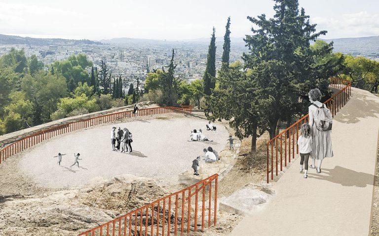 Ο λόφος του Στρέφη γίνεται ξανά τόπος αναψυχής