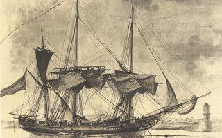 Στα τετρακόσια χρόνια σκλαβιάς η ναυτική ορολογία έγινε γλωσσική φουρτούνα και μόλις το 1856 μία επιτροπή σοφών, στεριανών και πελαγίσιων, κατ' εντολήν του υπουργού Αθανασίου Μιαούλη, ανέλαβε να συντάξει νέο ονοματολόγιο ώστε να καθαρογραφεί εξελληνισμένος ο εν πλω κώδικας αγαστής επικοινωνίας. Στην πρώτη έκδοση υπήρχαν και 171 «κελεύσματα» στα αρχαία ελληνικά που ανέβαζαν πολύ ψηλά τον πήχυ ανταπόκρισης των πληρωμάτων, πολλές φορές οι εντολές σκόρπιζαν στον άνεμο. Επάνω, ελληνική «πολάκα» στο λιμάνι της Μασσαλίας το 1801, υδατογραφία του Α. Roux. Αυτός ο τύπος σκάφους με τετράγωνα πανιά που υποστέλλονταν γρήγορα όλα μαζί, ώθησε τη δυναμική παρουσία της ελληνικής ιστιοφόρου ναυτιλίας σε όλη τη Μεσόγειο. Από το αφιέρωμα «Ελλάδα και Θάλασσα» της «Κ», στις «Επτά Ημέρες».