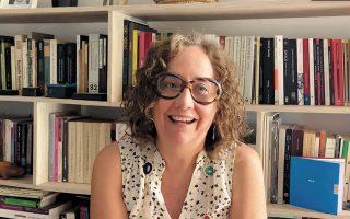 Η συγγραφέας του βιβλίου, Μιρέγια Τάμπουας, από τη Βενεζουέλα.