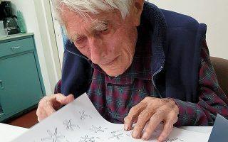 Ο Βρετανός αρχαιολόγος πέθανε σε ηλικία 103 ετών.