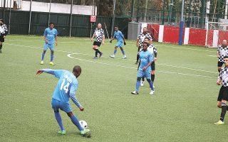 Συνοδοιπόρος της παναφρικανικής ομάδας, που ιδρύθηκε στα Κάτω Πατήσια, είναι η ομάδα παρέμβασης «Μπάλα-Πατήσια». Φιλοδοξία της είναι να αναβιώσει το γήπεδο που δημιουργήθηκε το 1986, όπου θα φιλοξενηθούν αθλητικές και πολιτιστικές δραστηριότητες, ενώ ο περιβάλλων χώρος θα αποτελέσει πόλο έλξης για όλες τις ηλικίες.