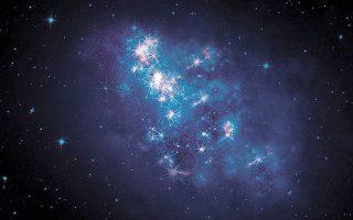 Μέσα από τους ήδη χαρτογραφημένους γαλαξίες, θα επιλεγούν δεκάδες εκατομμύρια από αυτούς για περαιτέρω έρευνα από το Εθνικό Αστεροσκοπείο του Κιτ Πικ, με το νέο φασματοσκοπικό όργανο σκοτεινής ενέργειας (φωτ. αρχείου, REUTERS).
