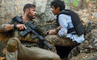Καταιγιστικές περιπέτειες όπως τo «Extraction» με τον Κρις Χέμσγουερθ παρουσιάζονται ως οι δημοφιλέστερες του Netflix.