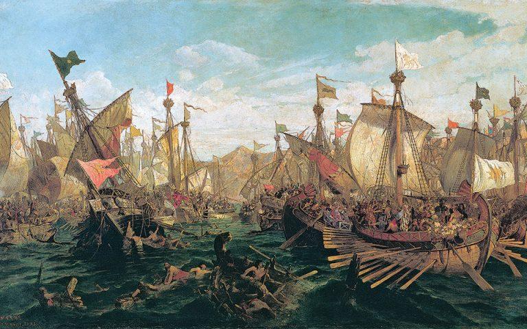 Aτενίζοντας τη θάλασσα της Ιστορίας