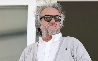 Ο πρώην ιδιοκτήτης της ΠΑΕ Λεβαδειακός, Γιάννης Κομπότης (φωτ. INTIMENEWS).