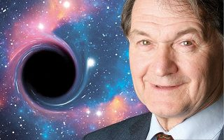 Ο Ρότζερ Πένροουζ ανέδειξε ότι στο εσωτερικό των μελανών οπών παύουν να ισχύουν οι νόμοι της φυσικής όπως τους ξέρουμε.