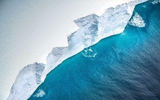 Το νέο μικρότερο παγόβουνο A68g έχει μήκος 53 χιλιομέτρων και πλάτος 18,5 χιλιομέτρων (φωτ. αρχείου, UK Ministry of Defence / Handout via REUTERS)