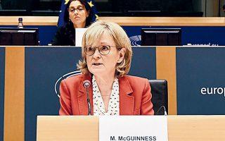 Η Μέιρεντ Μακ Γκίνες, επίτροπος της Ε.Ε. για θέματα Χρηματοπιστωτικών Υπηρεσιών, δήλωσε βέβαιη πως η αυξανόμενη ευαισθητοποίηση των επενδυτών στα θέματα του κλίματος και του περιβάλλοντος θα επηρεάσει τη στρατηγική των επενδύσεων.