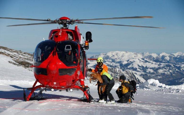 Ελβετία: Δύο άτομα που θάφτηκαν από χιονοστιβάδα σώθηκαν χάρη στους σκύλους τους