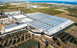 Η βιομηχανική μονάδα της Tikun Europe διαθέτει υπερσύγχρονες εγκαταστάσεις, με εξοπλισμό τελευταίας τεχνολογίας, στα Εξαμίλια της Κορίνθου.