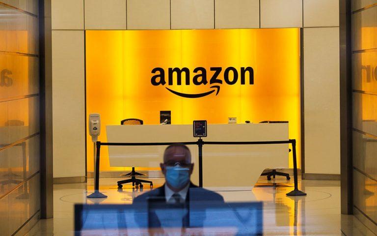 Με υψηλούς στόχους έρχεται στην Αθήνα η αμερικανική Amazon