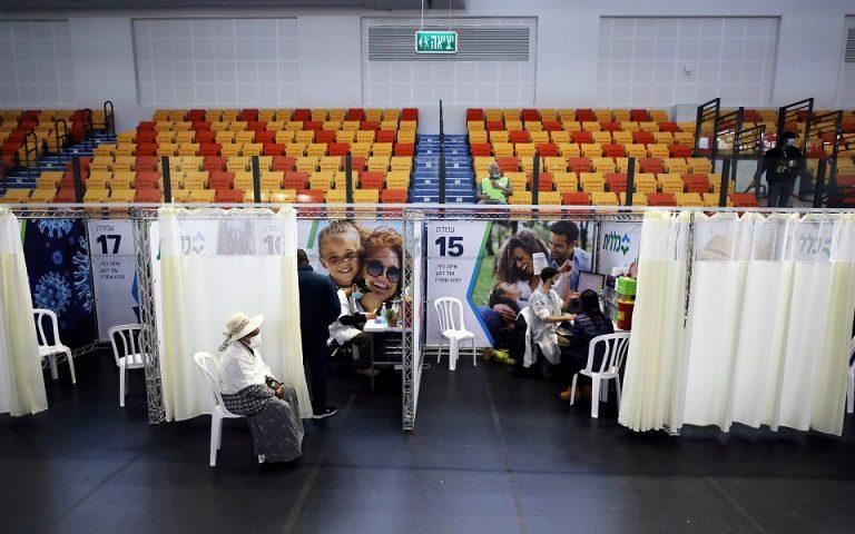 Το Τελ Αβίβ θα προμηθεύσει τους Παλαιστίνιους με 5.000 δόσεις εμβολίων