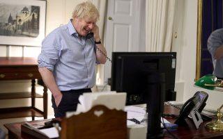 Φωτ. Downing Street Handout/Crown copyright 2021/via REUTERS