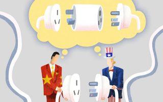 Χαρακτηριστικό σκίτσο του Luo Jie στην εφημερίδα China Daily.