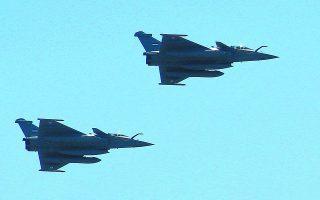Η αγορά 18 μαχητικών αεροσκαφών Rafale από τη Γαλλία θα δώσει ένα σημαντικό ποιοτικό πλεονέκτημα στην Πολεμική Αεροπορία. Φωτ. ASSOCIATED PRESS
