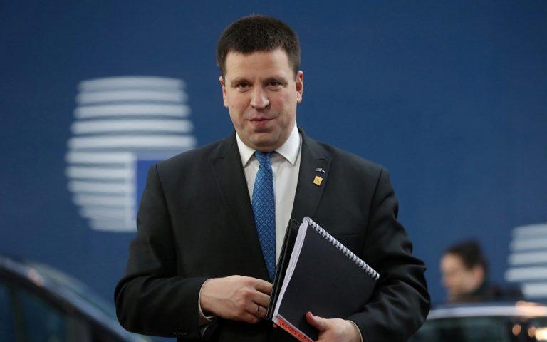 Εσθονία: Παραίτηση του πρωθυπουργού λόγω υπόθεσης διαφθοράς