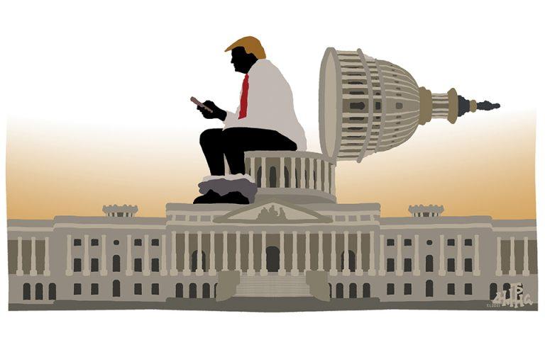 Σκίτσο του Δημήτρη Χαντζόπουλου (08/01/21)