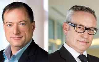 Ο κ. John Roese, CTO της Dell Technologies, και ο κ. Adrian McDonald, πρόεδρος της εταιρείας για την περιοχή Ευρώπης, Μέσης Ανατολής και Αφρικής, αναφέρονται στη νέα ψηφιακή εποχή αλλά και στις προοπτικές που ανοίγονται για την Ελλάδα ώστε να προσελκύσει αλλοδαπούς εργαζομένους.