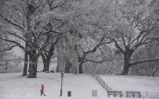 Aποψη της χιονισμένης Νέας Υόρκης τον περασμένο Δεκέμβριο. Οι  βορειοανατολικές πολιτείες των ΗΠΑ, η Βόρεια Ευρώπη και η Βόρεια Ασία αναμένεται να δεχθούν ισχυρές χιονοπτώσεις εξαιτίας του φαινομένου SSW. (Φωτ. A.P.)