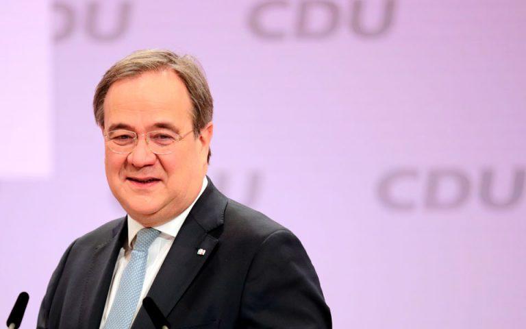 Ο Άρμιν Λάσετ εξελέγη νέος πρόεδρος του CDU