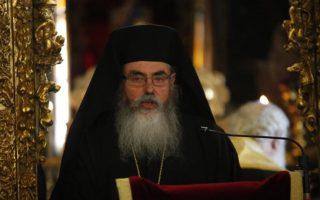 O Αρχιμανδρίτης Γρηγόριος Μουσουρούλης νοσηλευόταν διασωληνωμένος εδώ και δύο ημέρες στο νοσοκομείο Λευκωσίας.  Φωτ. Καθημερινή Κύπρου