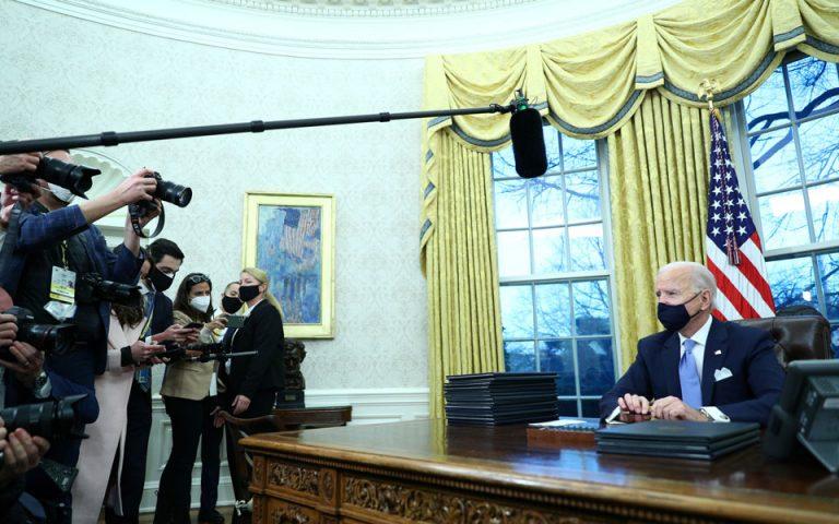 Διάταγμα Μπάιντεν: Ακυρώνεται η αποχώρηση των ΗΠΑ από ΠΟΥ