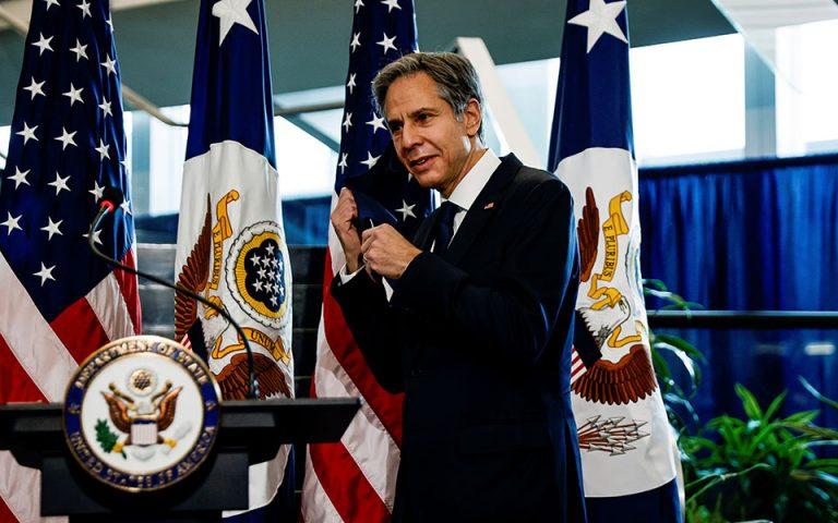Δέσμευση Μπλίνκεν για ανοικοδόμηση της αμερικανικής διπλωματίας