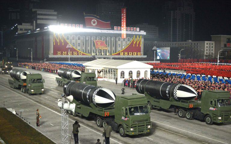 Βόρεια Κορέα: Αποκαλυπτήρια για νέο βαλλιστικό πύραυλο