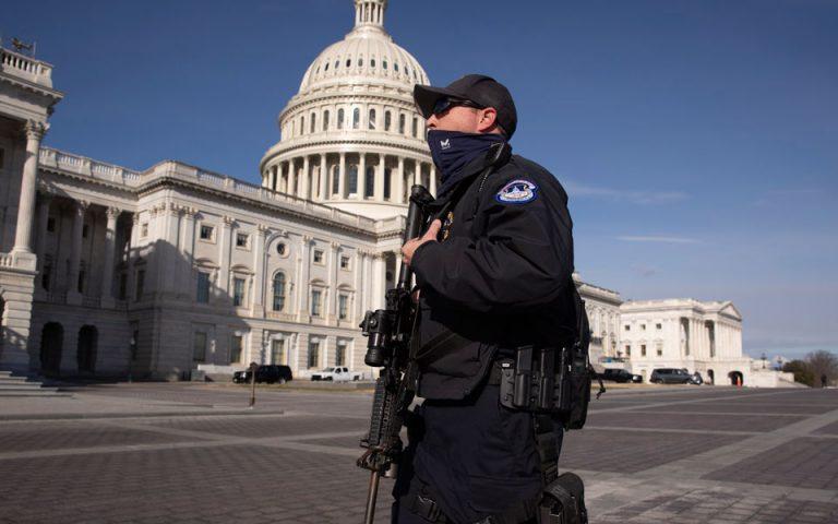 Ουάσιγκτον: Θετικοί στον κορωνοϊό πάνω από 100 εθνοφρουροί