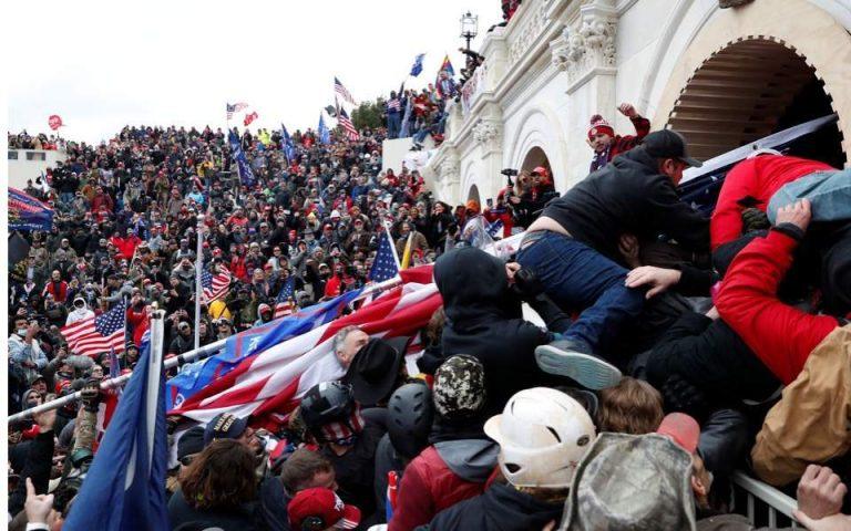 Κορυφαία χορηγός του Τραμπ χρηματοδότησε τη διαδήλωση πριν την επίθεση στο Καπιτώλιο