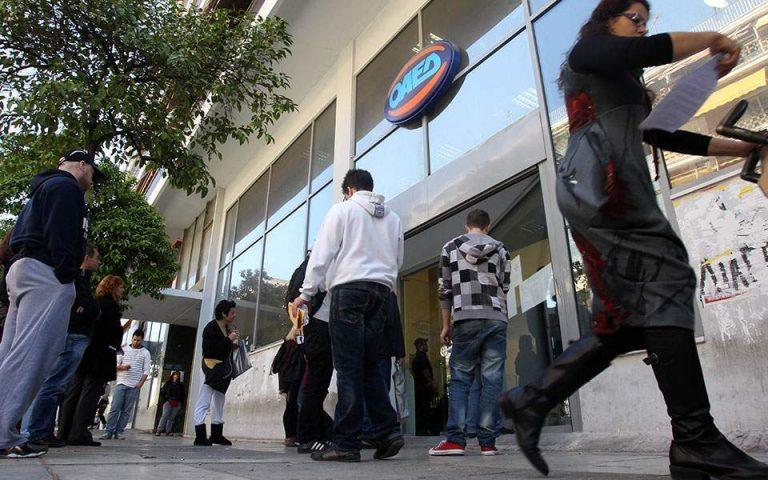 Σταθερή τον Οκτώβριο η ανεργία στο 16,7%
