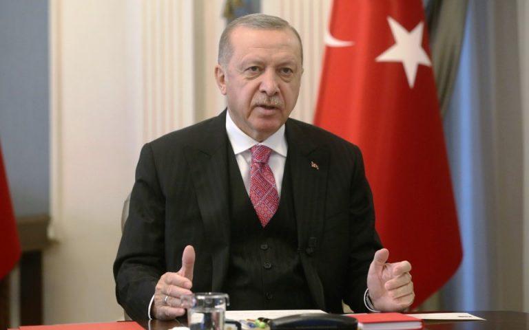 Ερντογάν: Θετικός σε συνάντηση με τον Κυρ. Μητσοτάκη