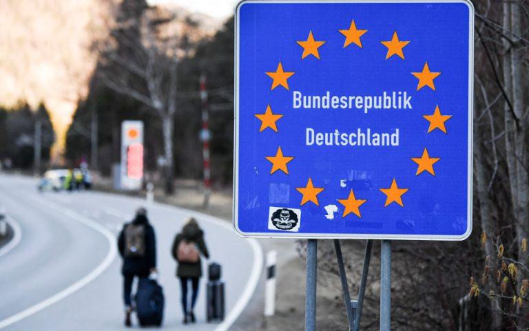 Γερμανία: Προειδοποίηση για κλείσιμο συνόρων αν δεν μειωθούν τα κρούσματα