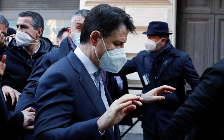 Κόντε: Προσπάθησα μέχρι τέλους να κρατήσω τον Ρέντσι στην κυβέρνηση