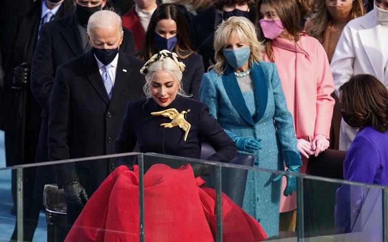 Ορκωμοσία Μπάιντεν: Lady Gaga και Τζένιφερ Λόπεζ έκλεψαν την παράσταση
