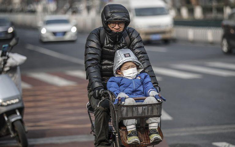 Κίνα: 107 κρούσματα του νέου κορωνοϊού σε 24 ώρες